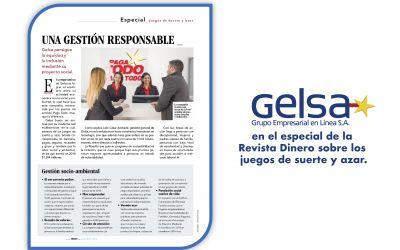 Gelsa en el especial de la Revista Dinero sobre los juegos de suerte y azar