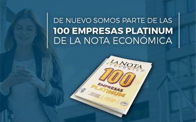 Grupo Gelsa, entre las 100 Empresas Platinum