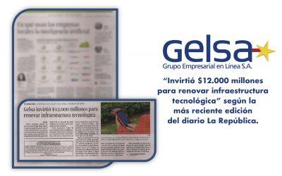 Gelsa invierte más de $12.000 millones para renovar su infraestructura tecnológica