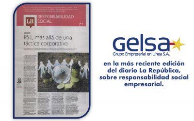 Responsabilidad Social Empresarial, una bandera de nuestra Compañía