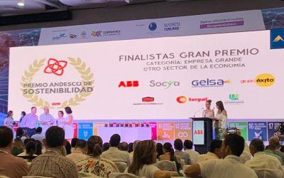 ¡Lo logramos una vez más! Gelsa: finalista en premios Andesco