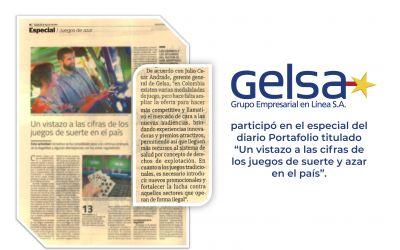 Gelsa en especial de Portafolio sobre la industria de los Juegos de Suerte y Azar