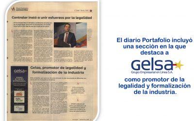 Gelsa, promotor de la legalidad y formalización de la industria