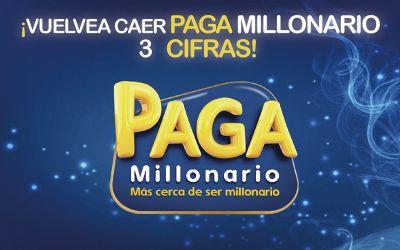 ¡VUELVE A CAER PAGA MILLONARIO 3 CIFRAS!